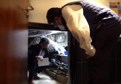 Fuga de agua en Senado daña equipo de cómputo y telefonía