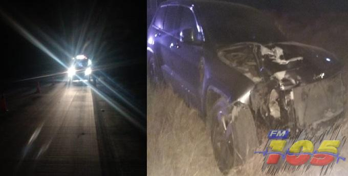 Muere hombre arrollado por auto