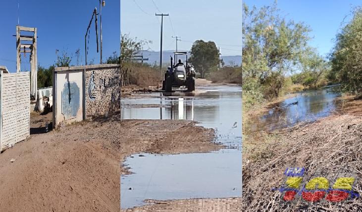 Sin agua Guaymas y Empalme; miles de litros se desperdician