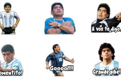 ¿Cómo descargar gratis los stickers de Maradona para WhatsApp?
