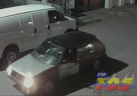 Identifican carro de ladrón, en Lomas de Cortés