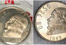 Moneda de un peso de Morelos es vendida en casi 10 mil pesos en internet