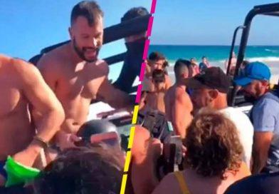 WTF? POLICÍA DE QUINTANA ROO DETIENE A UNA PAREJA GAY POR BESARSE EN LA PLAYA