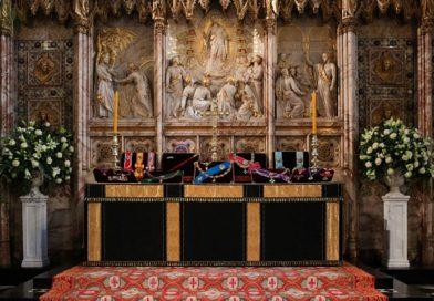 Así es la capilla de San Jorge, donde será enterrado el príncipe Felipe