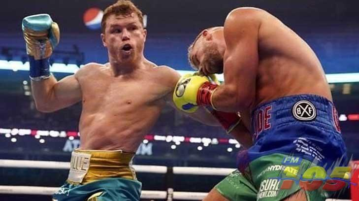 Canelo noquea  a Billy Joe Saunders