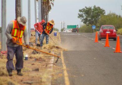 Se intensifica programa de limpieza en San Carlos.